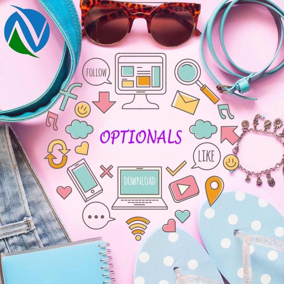 optional per siti web
